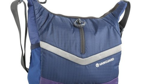 Vanguard Reno 22BL Messenger blue фото чанта, Вангард Рено фото чанта