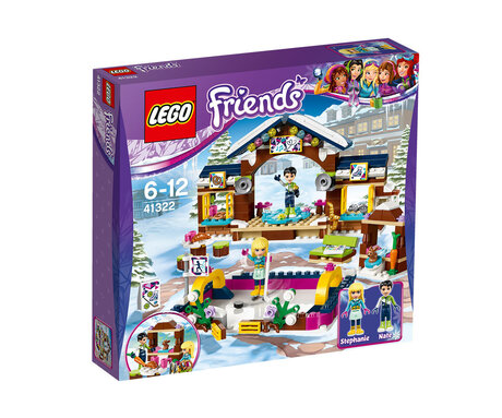 LEGO® Friends Ледена пързалка, 41322, Конструктор Лего
