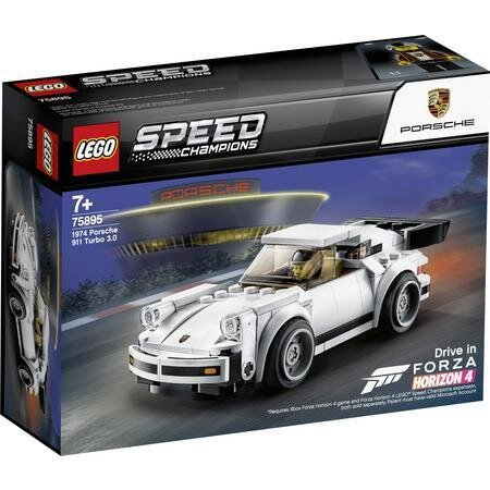 75895 LEGO SPEED CHAMPIONS 1974 Porsche 911 Turbo 3.0, конструктор ЛЕГО Скоростни шампиони Порше