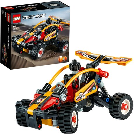 LEGO 42101 Technic Beach Buggy, строителни играчки ЛЕГО, конструктор за деца, Лего Плажно бъги, 117 части