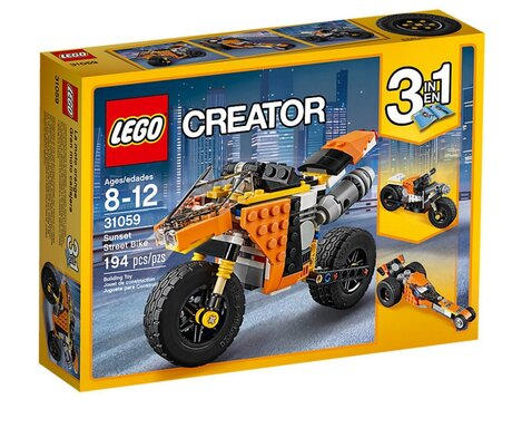 ЛЕГО конструктор 31059, LEGO конструктор, LEGO Creator Sunset street bike