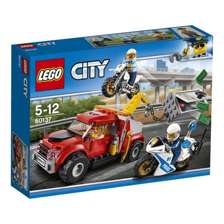 ЛЕГО конструктор 60137, LEGO конструктор, LEGO City Sleeptruck