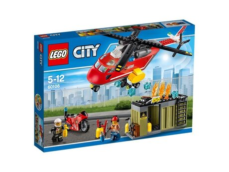 ЛЕГО конструктор 60108, LEGO конструктор, LEGO City fire brigade, ЛЕГО Пожарна