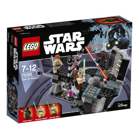 ЛЕГО конструктор 75169, LEGO конструктор Дуелът на Набу, LEGO Star Wars Duel of Naboo, 208 части