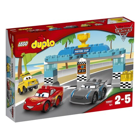 ЛЕГО конструктор 10857, LEGO конструктор Надпревара, LEGO DUPLO Piston Cup race, 31 части