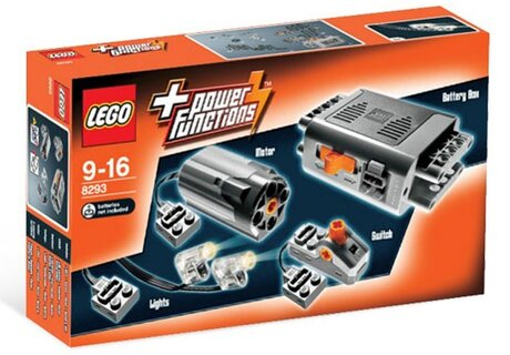 ЛЕГО конструктор 8293, LEGO конструктор, LEGO Technic Power Functions Motor Set 10 детайла