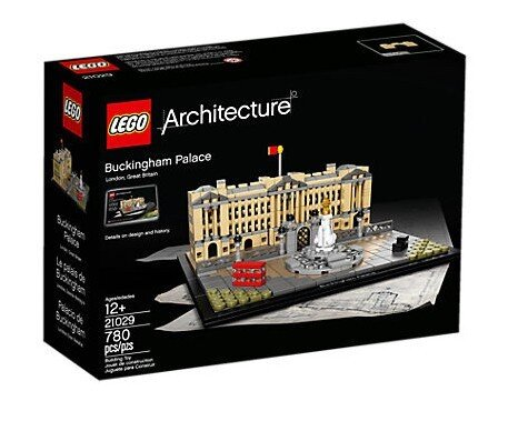 ЛЕГО конструктор 21029, LEGO конструктор, LEGO Architecture Buckingham Palace 780 детайла